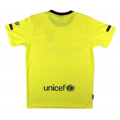 2bc59b6467 Camiseta segunda equipacion sin dorsal adulto del barcelona producto  oficial licenciado temporada jpg 400x400 Segunda equipación