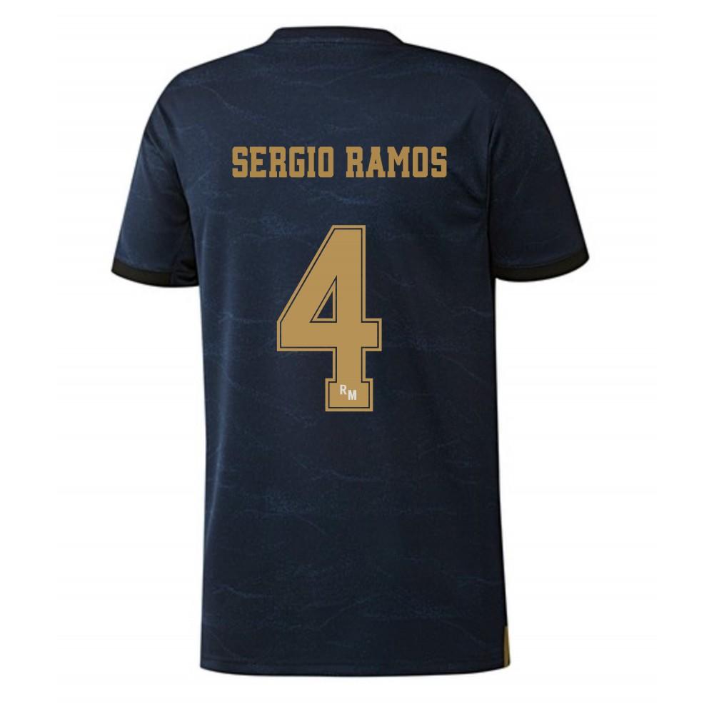 Camiseta Adulto Segunda Equipación Ramos del Real Madrid temporada 2019-2020